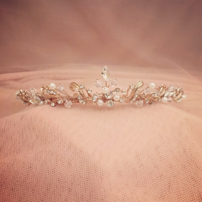 1. Emmy in Rose Gold – Tiara