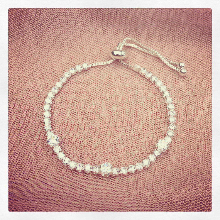 16. Clarissa in Silver – Bracelet