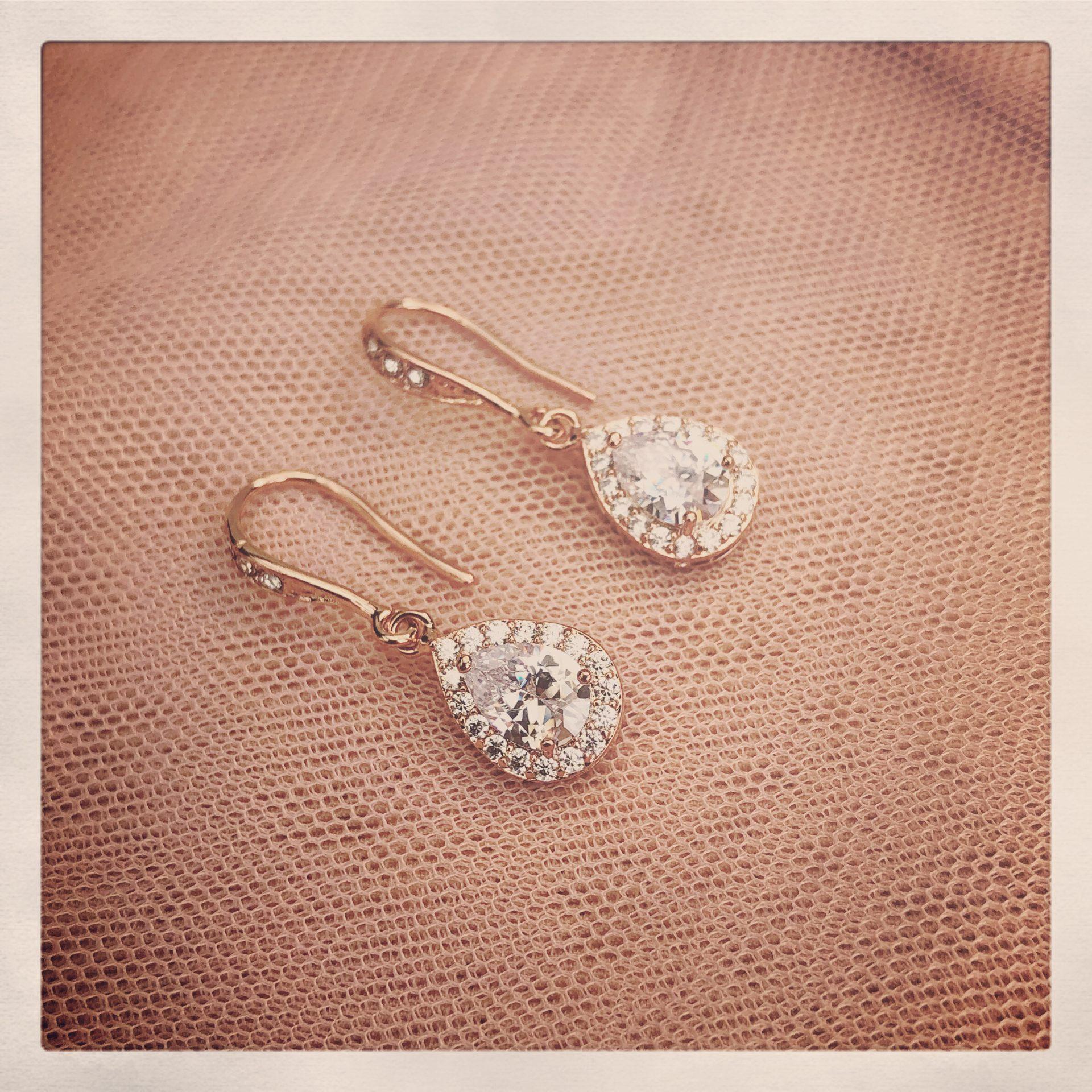 15. Felicity in Rose Gold – Earrings